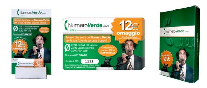 Richiedi il kit di Numero Verde .com