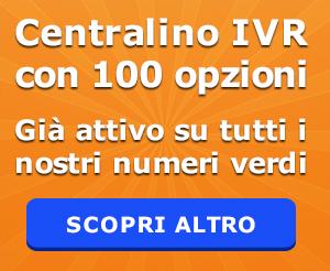 numero verde centralino IVR