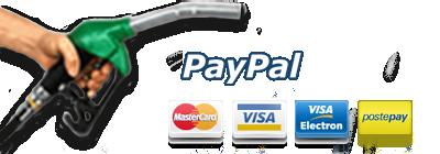 ricarica ora con PayPal