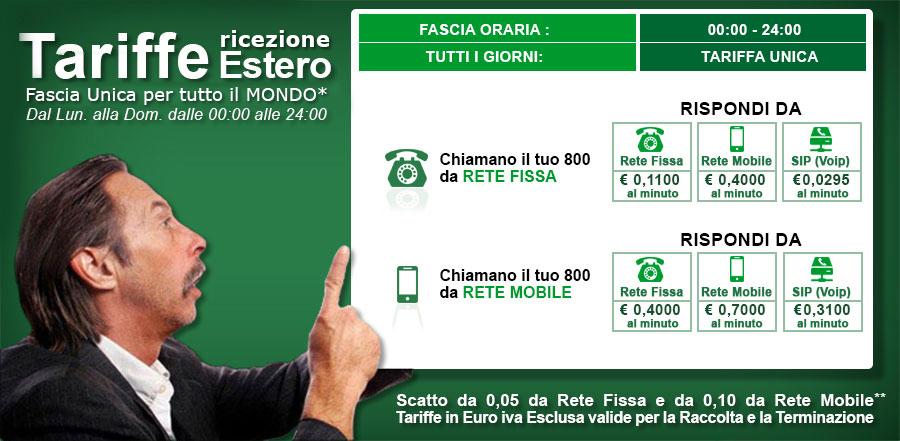 Tariffe estero NumeroVerde.com
